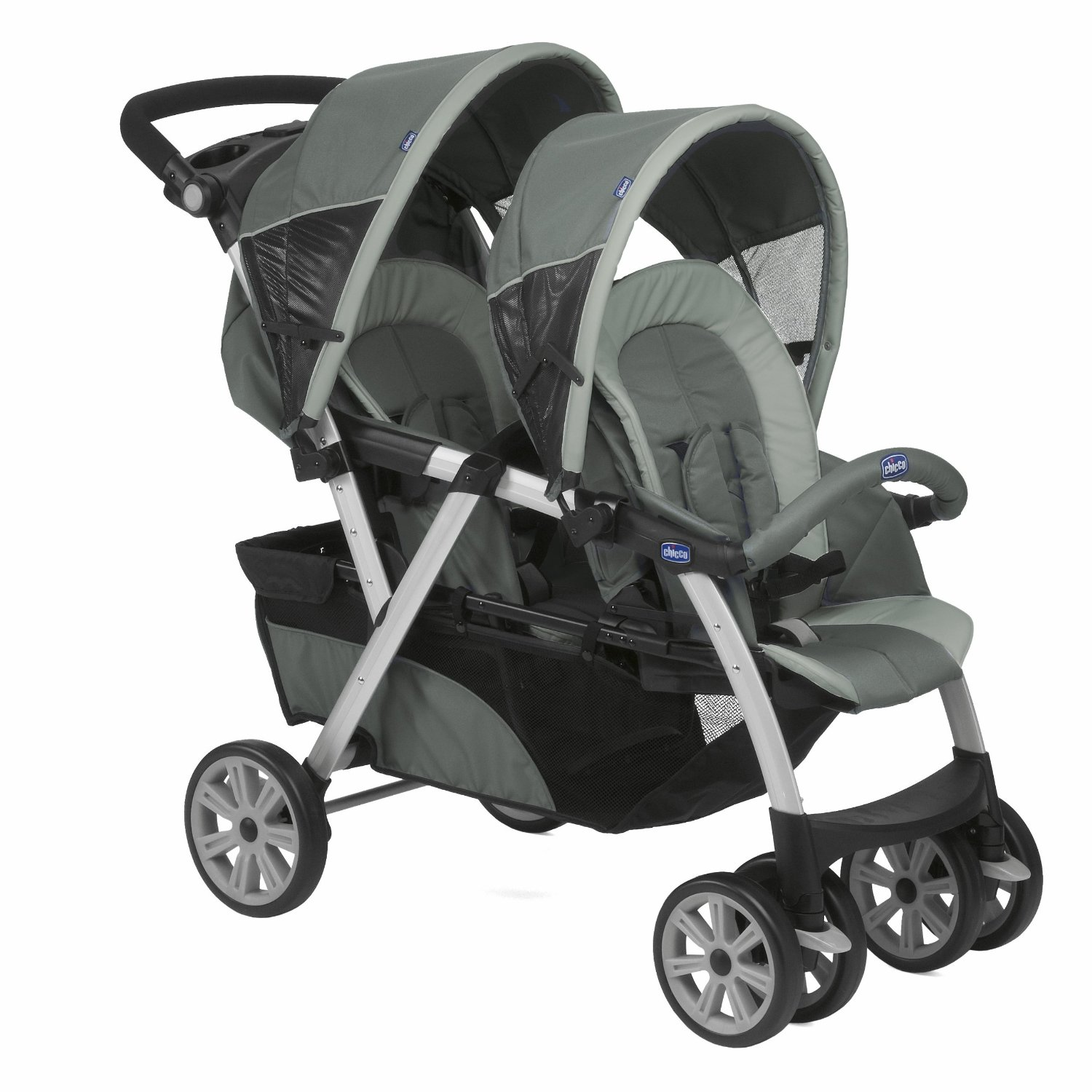 poussette double chicco graphite